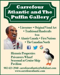 Carrefour Atlantic Emporium & Puffin Gallery AND Cruise Ship Kiosk